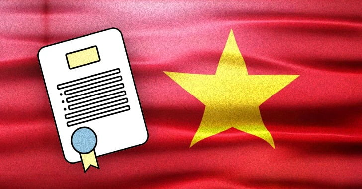 Vietnam targeted in a complex supply chain attack