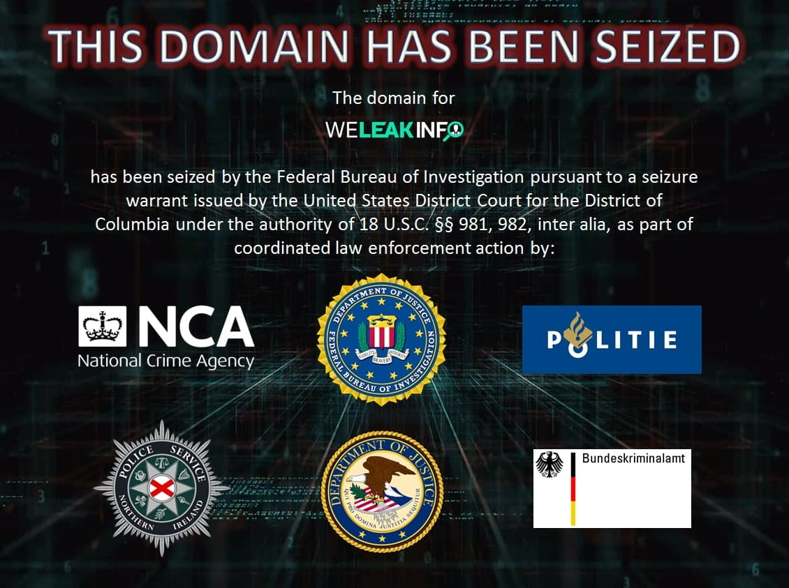 "UK NCA Announced the Arrest of 21 Clients of""WeLeakInfo"""