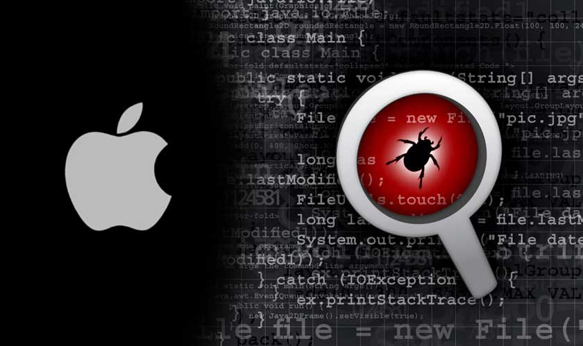 Apple releases a patch for a security flaw found by researchers at Google and Microsoft